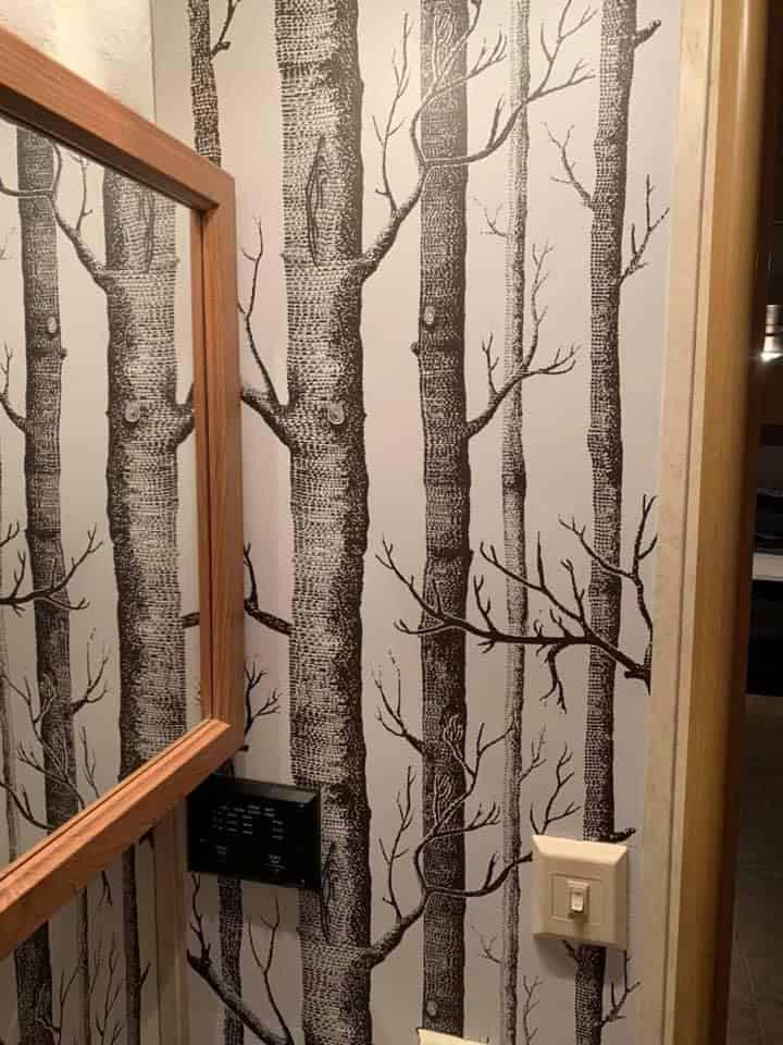 Wallpaper dessin for RV, Peel and stick wallpaper for RV