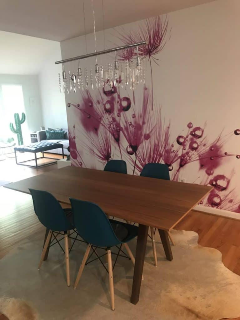 Best tips for glamorous accent walls add a mural
