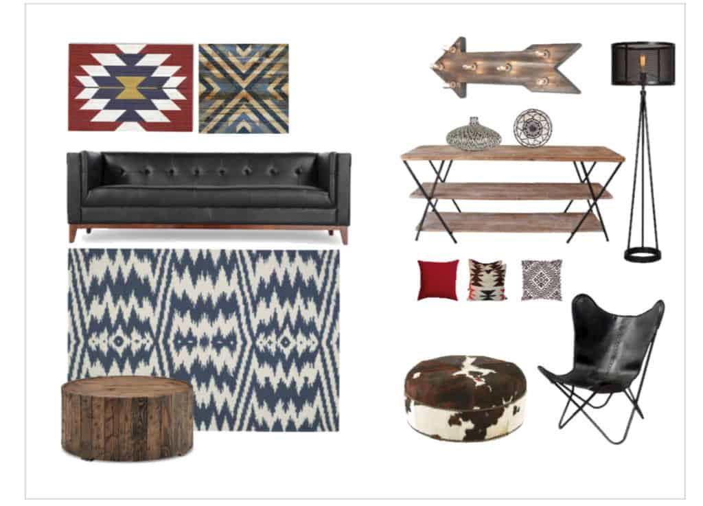 Finding your own decorating style - Mood Board 1