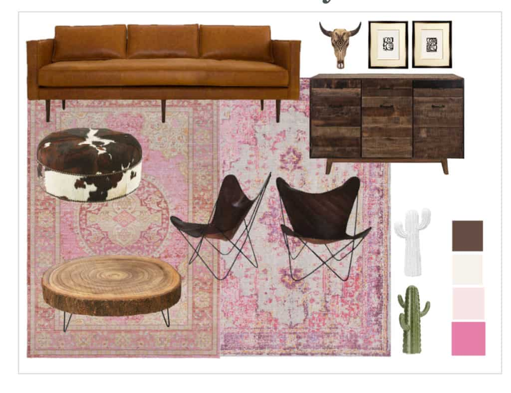 Finding your own decorating style - Mood Board 2
