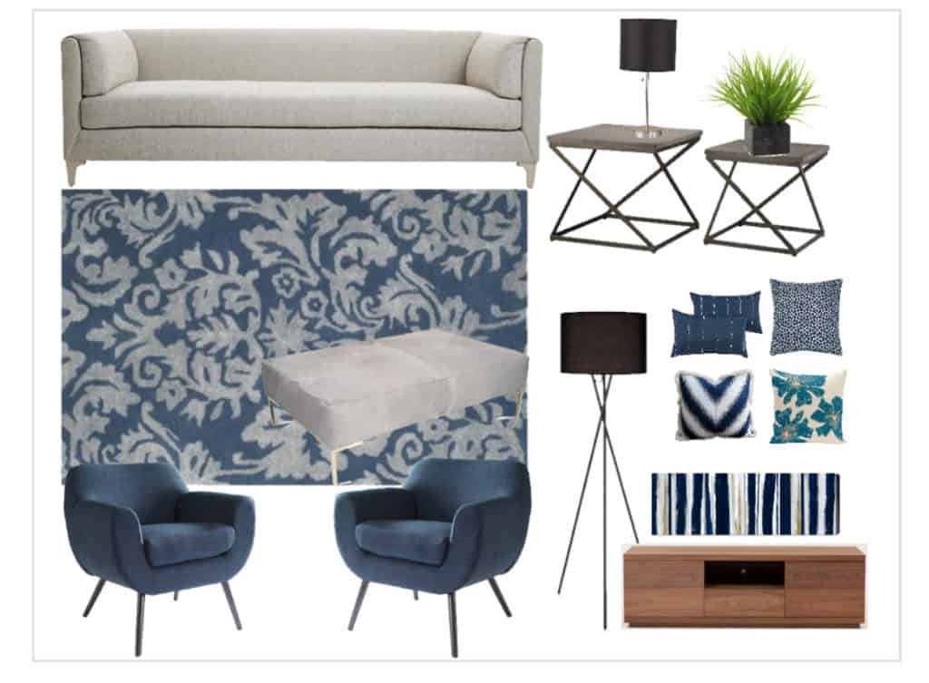 Finding your own decorating style - Mood Board 3