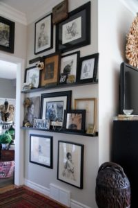 Best tips how to display art on shelves
