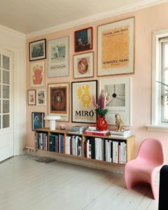 Inspiring ways to style your walls with different art.