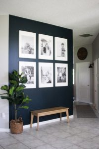 Inspiring ways to style your walls in your entry