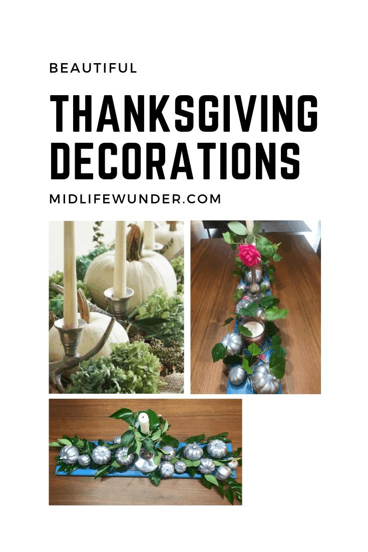 Beautiful Thanksgiving Decorations
