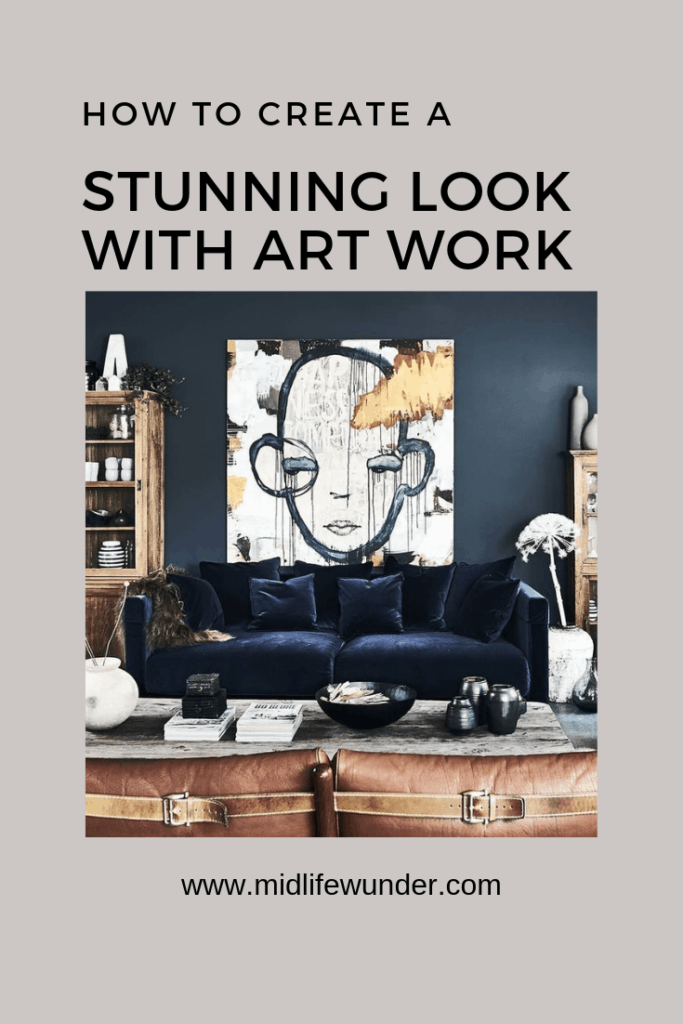 how to create a stunning look with art work