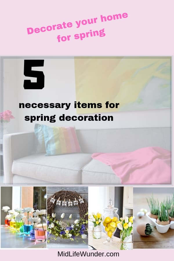 The best 5 necessary items for spring decoration