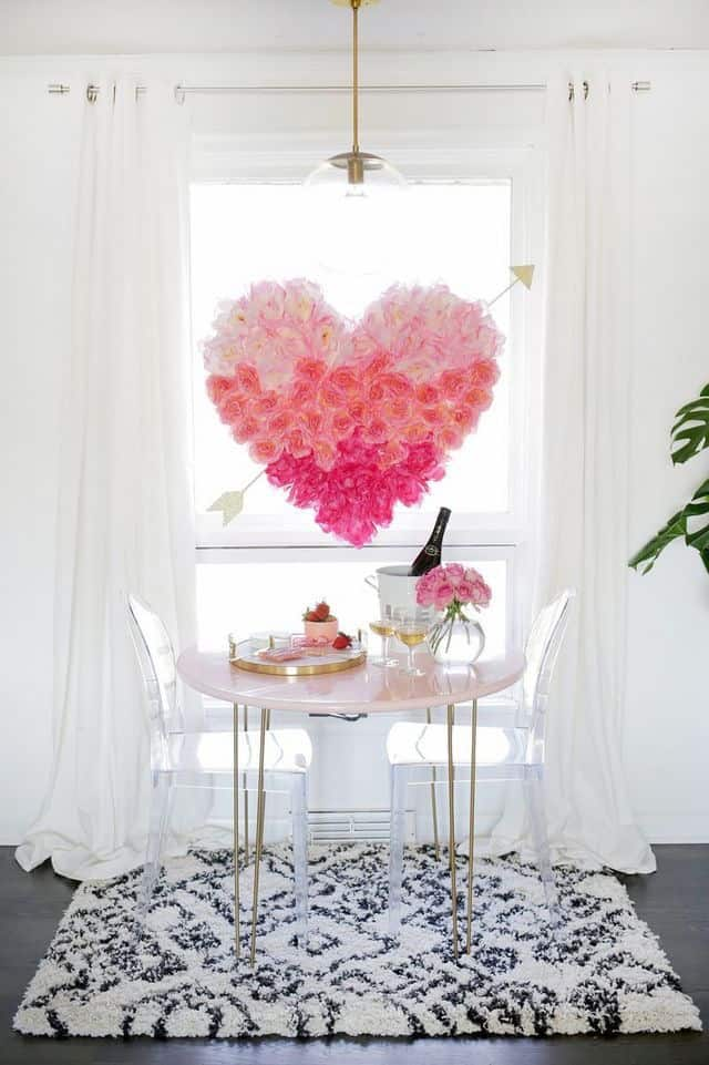 Valentines Day Heart for decorating ideas