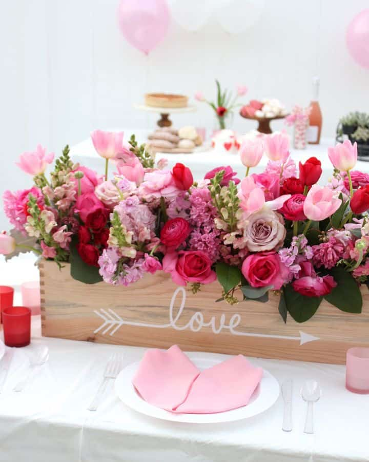 Valentines Day Decoration Ideas for tables