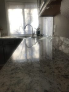 Clean countertops in the kitchen make a difference