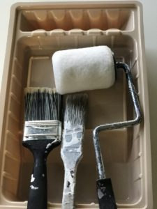 Brushes for Camper Kitchen Remodel