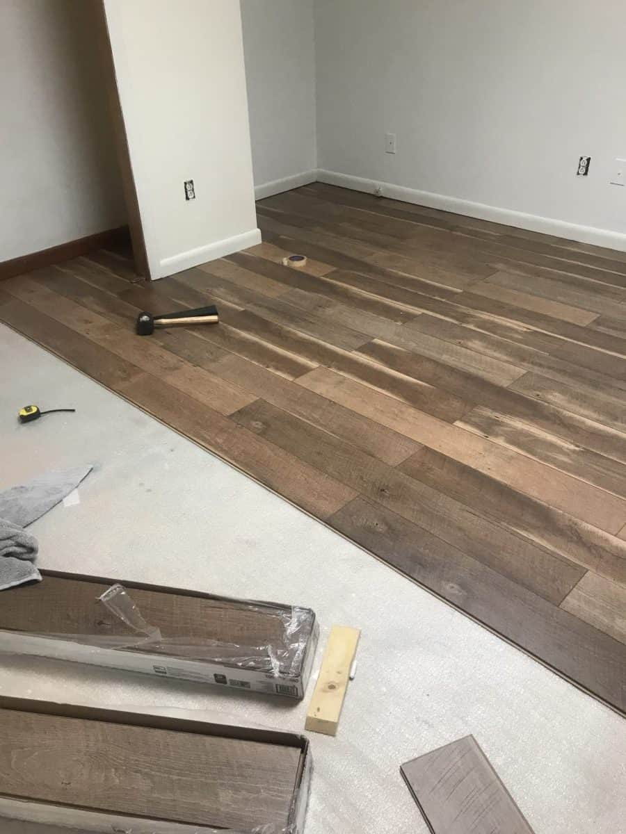 How To Install Laminate Floor On Concrete Colorful Designer
