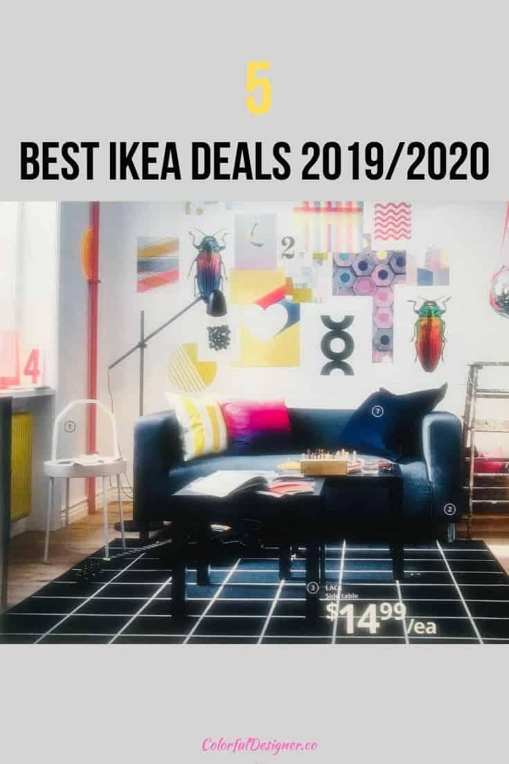5 best Ikea deals from the 2019/2020 catalogue. Find out the best deals I checked from the newest Ikea collection.