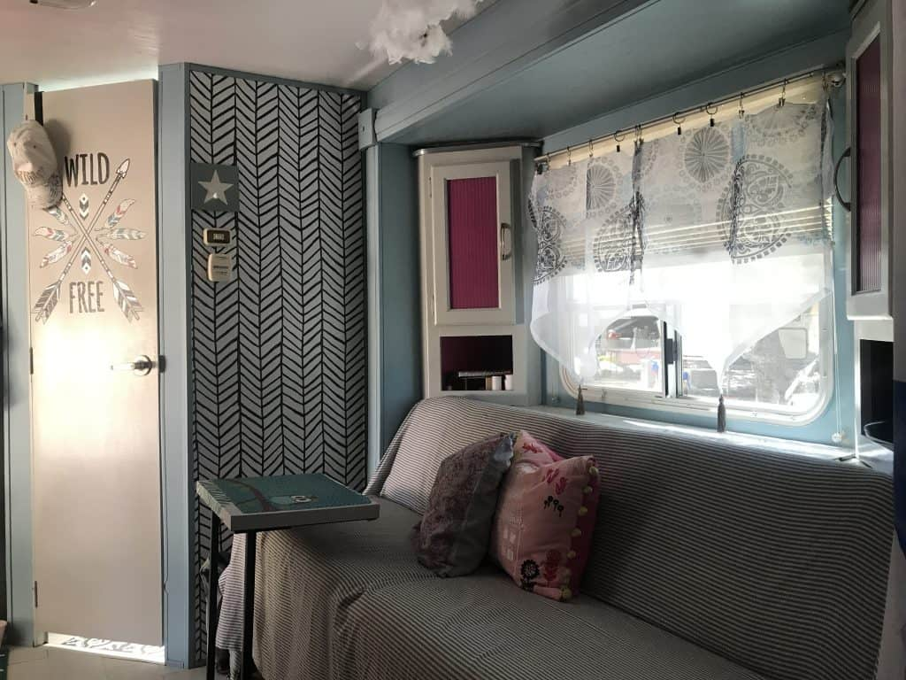 colorful updates in the Camper