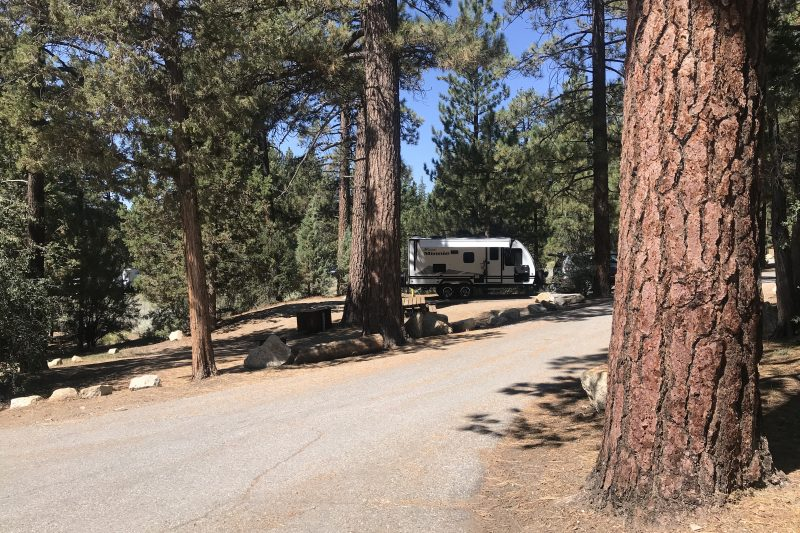 Boondocking in state parks