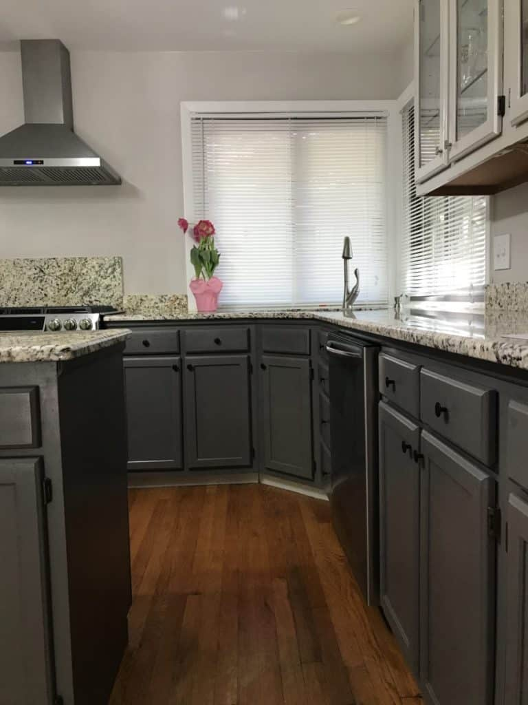 updated kitchen cabinets without sanding and priming