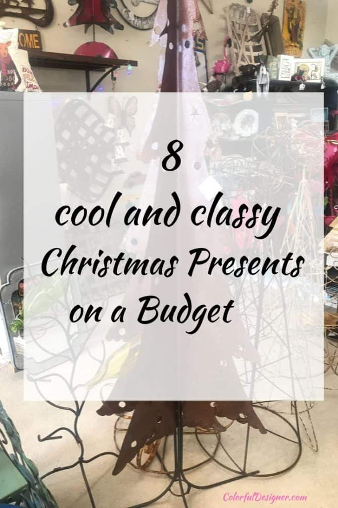 Christmas Present ideas DIY or shop on a budget