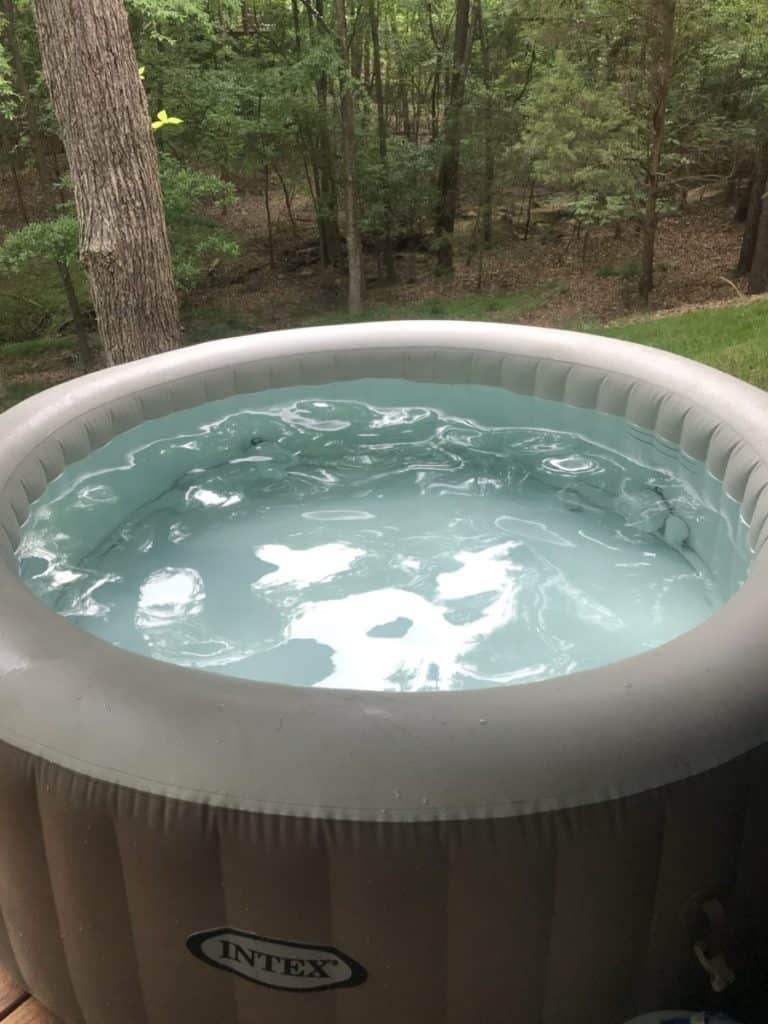 hot tub you can use in summer and winter