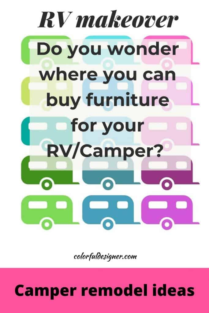 Where can you buy RV furniture that fits and doesn't break the bank?