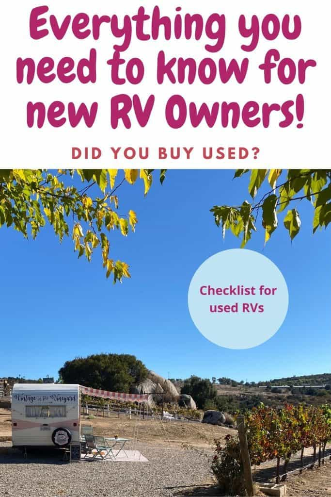 Dated camper in the back country, 10 essential tips for new RV Owners