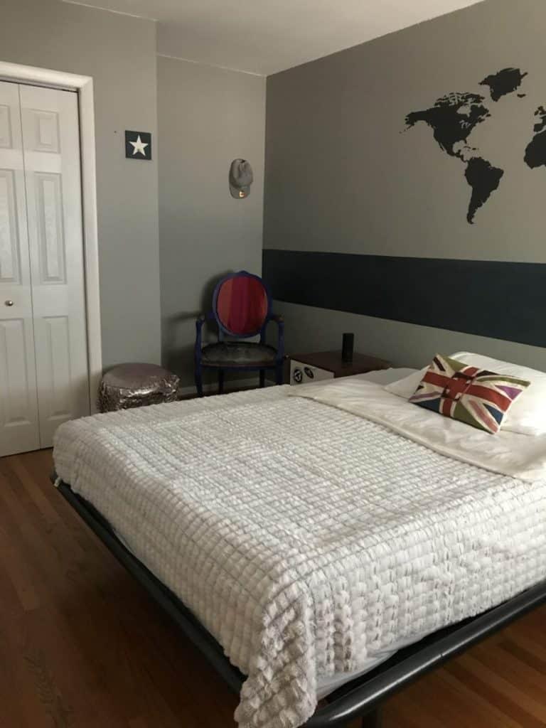 Decluttered Bedroom