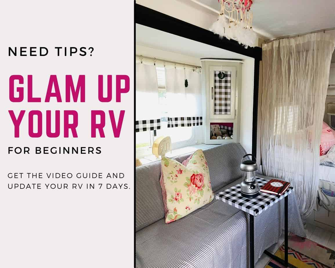 Tips on how to update an RV
