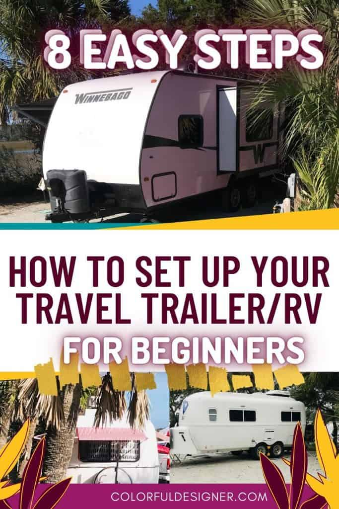 Travel Trailers  ready for camping