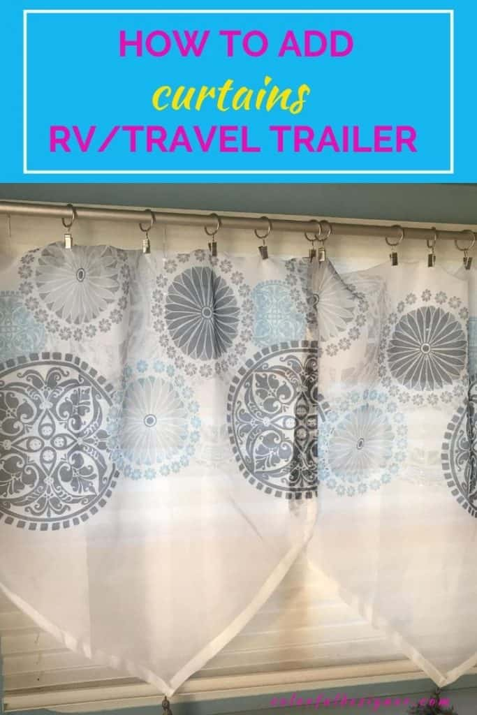 How To Replace Curtains In An Rv Colorful Designer