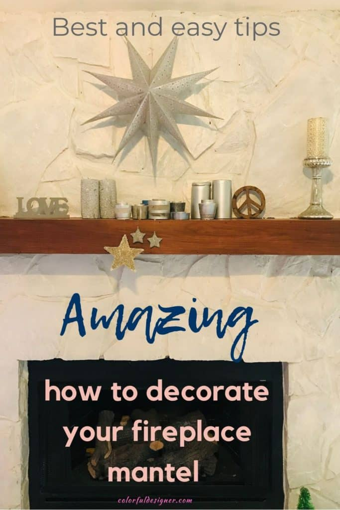 How to decorate your fireplace mantel with different decor
