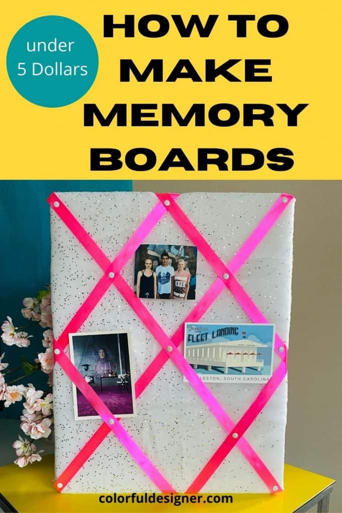 Easy to make memory boards (under $ 5 DIY present)