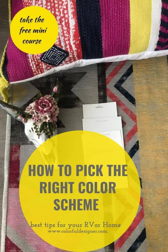 How to pick the right color scheme - take the free mini-course - it only takes a couple of minutes.