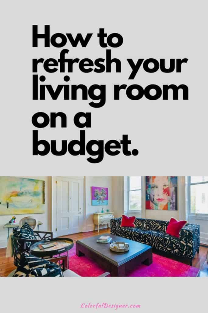 refresh your living room