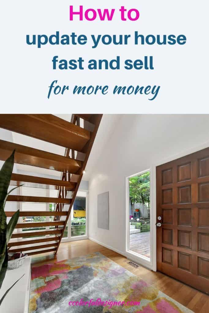 How to update your house fast and sell it for more money. Just check out these 5 most valuable home improvements in 2020 (you can definitely do on your own) and get the most money for your house.