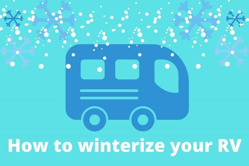 winterize your RV when it gets cold