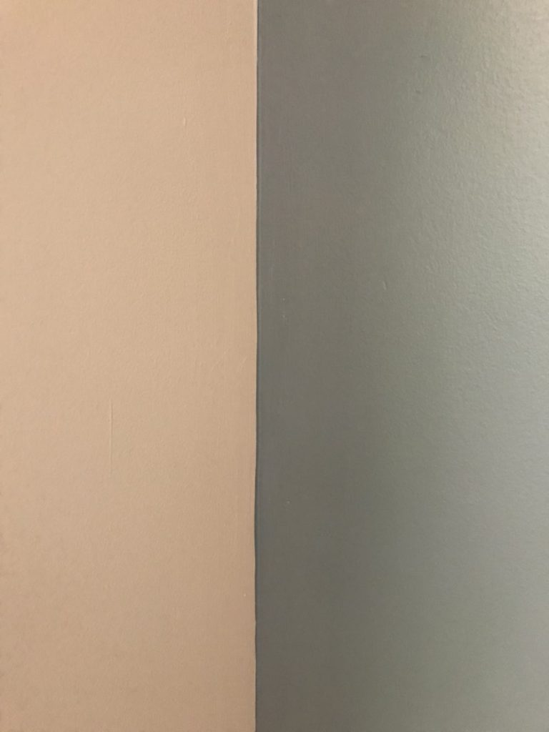 How to paint a wall fast and easy = painting straight corners