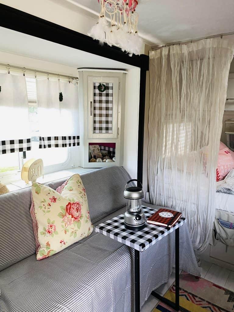 Organized inside of a Camper