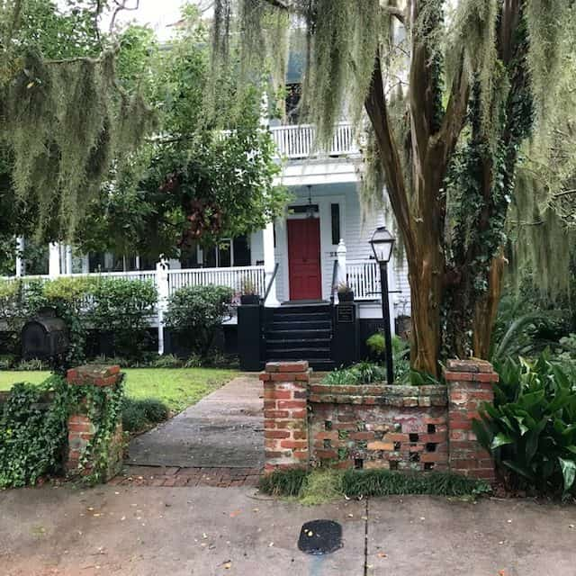 Go for a walk in Beaufort, SC about an hour drive away from the beach.