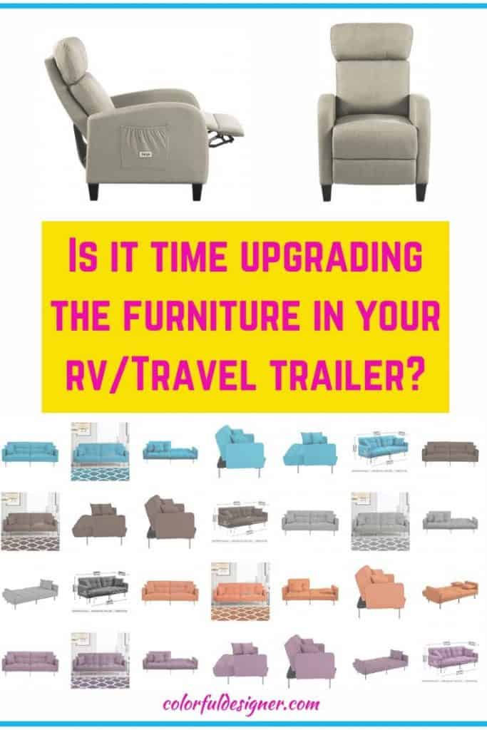 New furniture for the RV or Travel Trailer