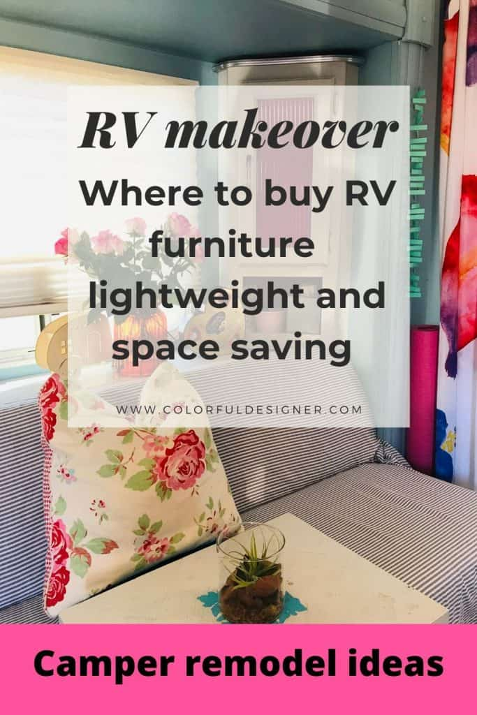 Where to buy RV furniture which is lightweight and space saving and actually fits through the door.