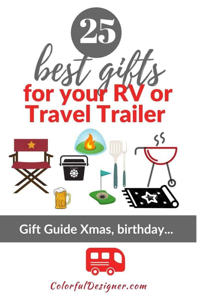 gifts for RV owners, gift guide for RV Owners, 25 best gifts for your RV or Travel Trailer Owner