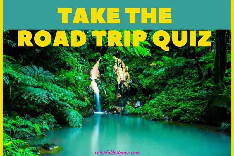 road trip quiz with rv