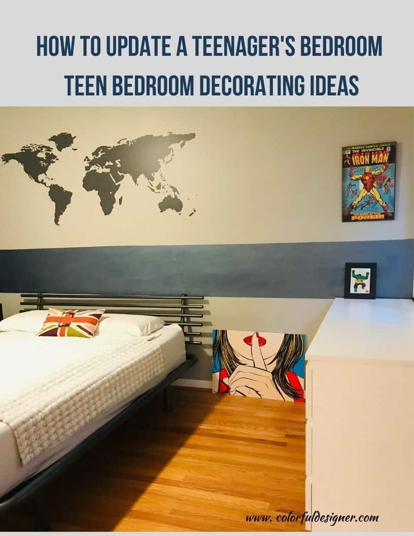 Teen Bedrooms decorating ideas – Colorful Designer