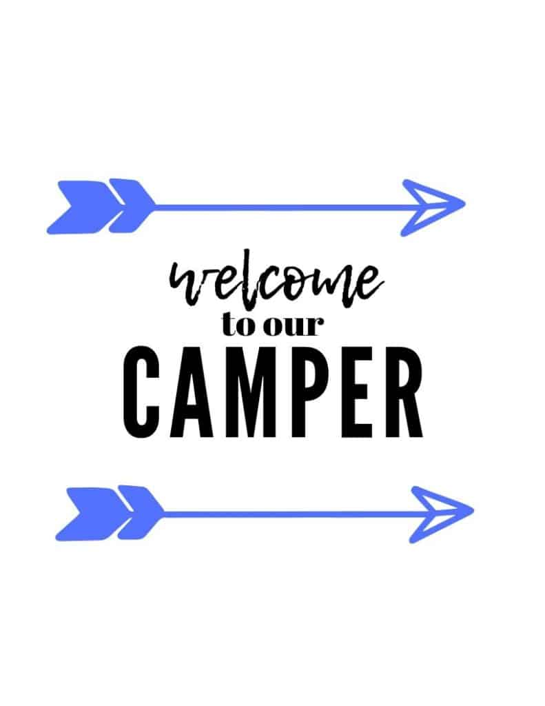 Welcome Camper