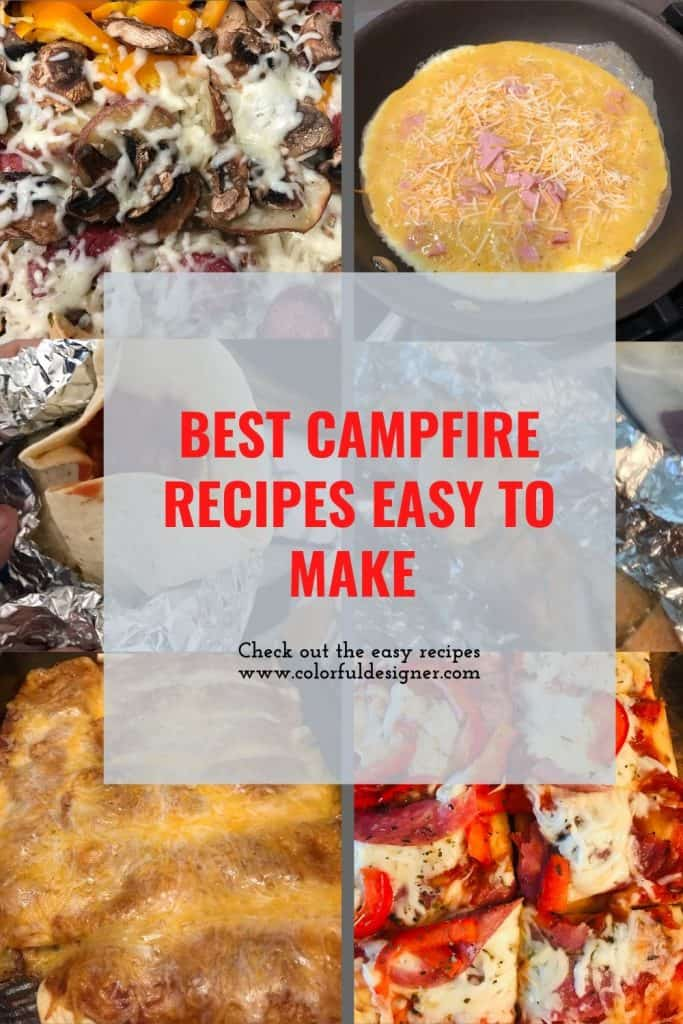 Best Campfire Recipes collection for a weekend trip everybody will love.