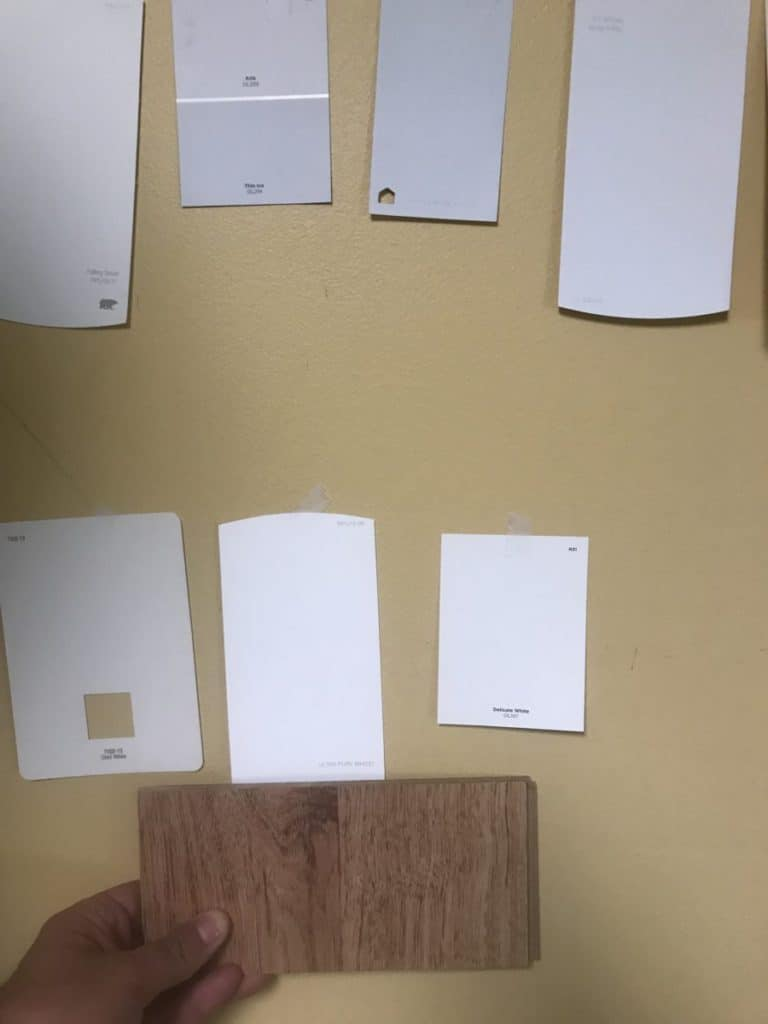Select paint colors first