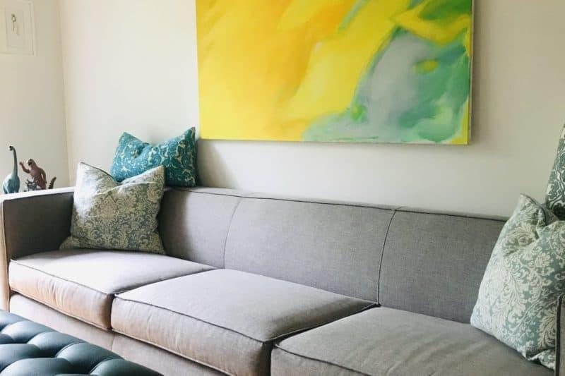 Living Room after the 21-days-Declutter-Challenge