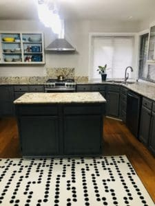 Paint kitchen cabinets without sanding and priming