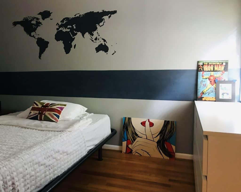 Glamorous accent walls