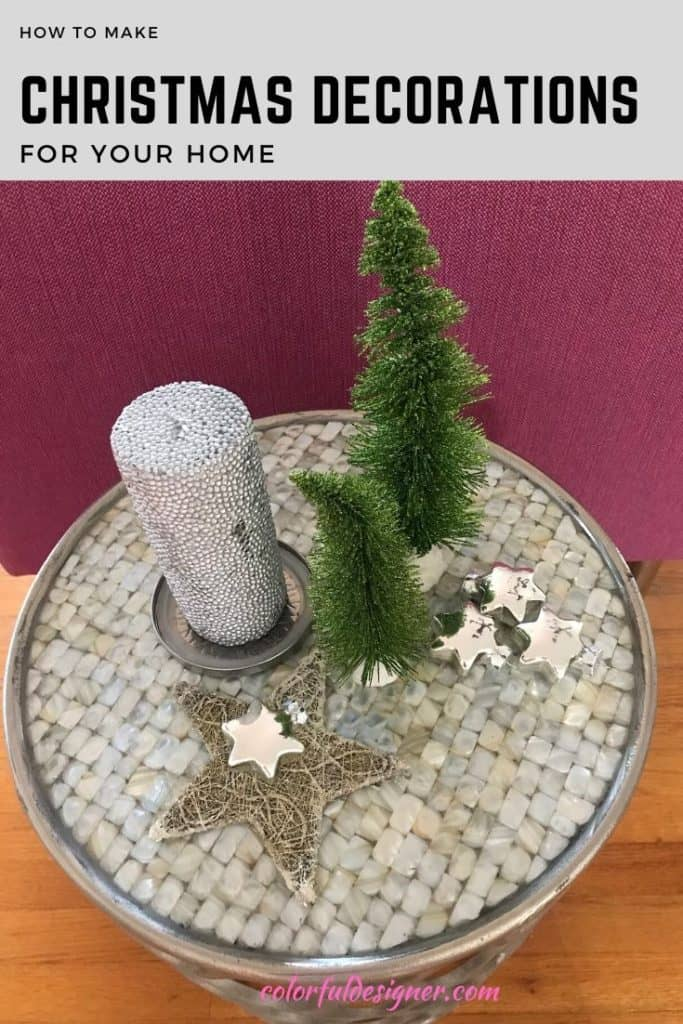 Christmas Decorations for your side table