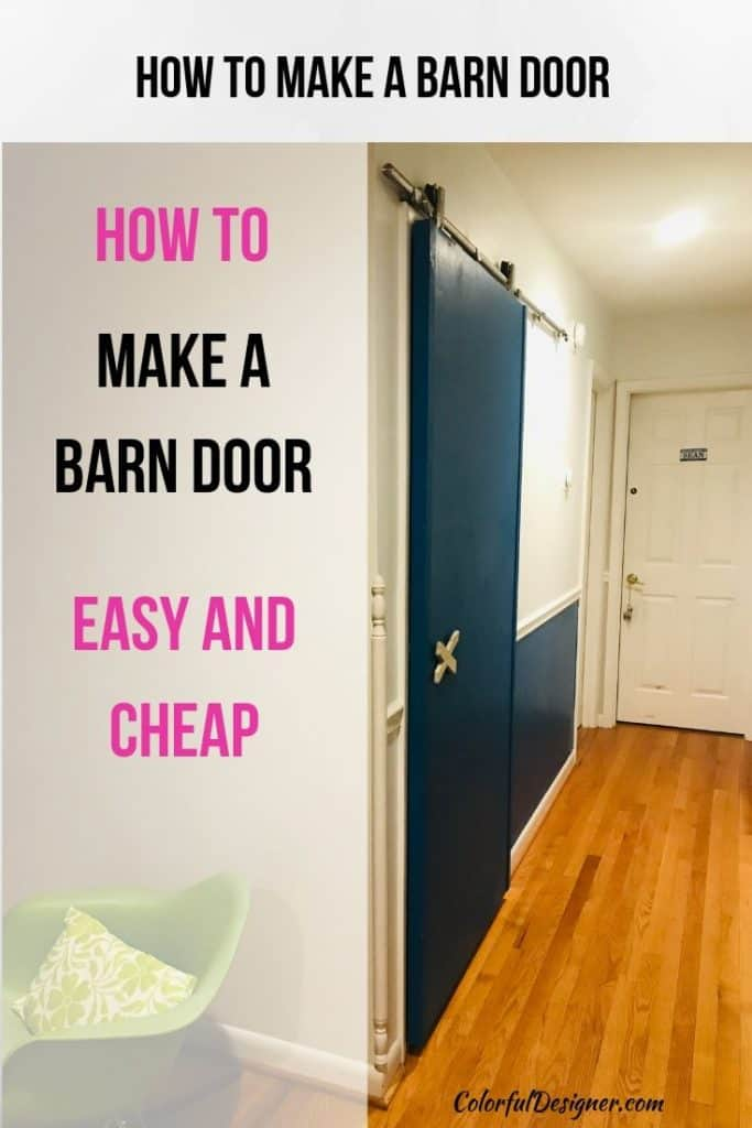 How to make a barn door easy